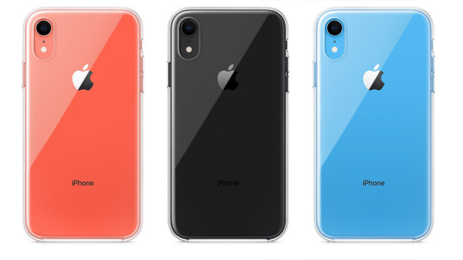iPhone XR Clear Case © Apple
