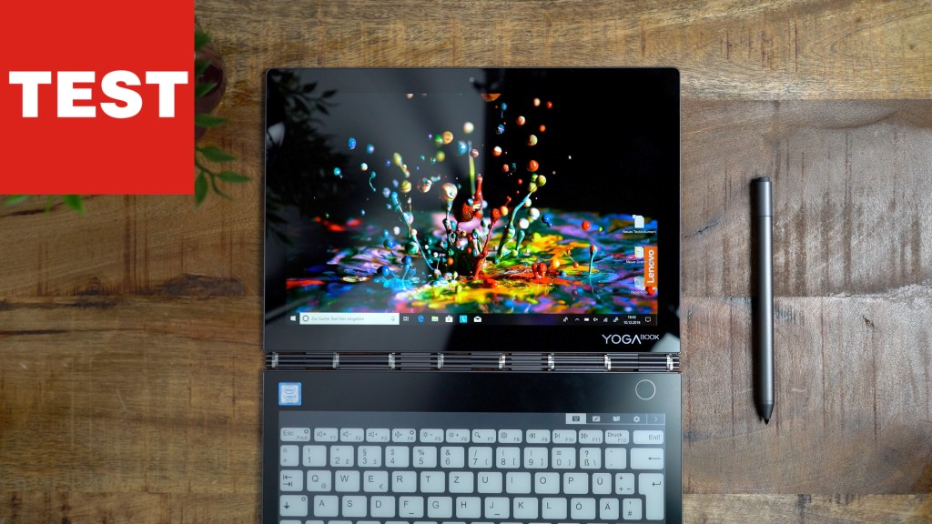 Lenovo Yoga Book C930: Notebook mit Doppel-Display im Video!