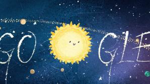 Google Doodle: Geminiden©Google