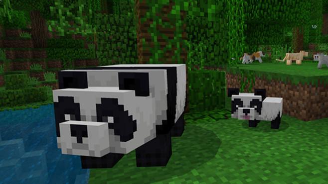 Minecraft: Pandas©Mojang
