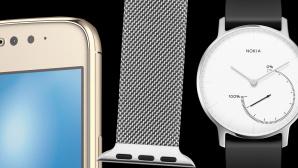 Motorola-Smartphone, Hoco Milanaise-Armband, Nokia Steel©Motorola, Hoco, Nokia