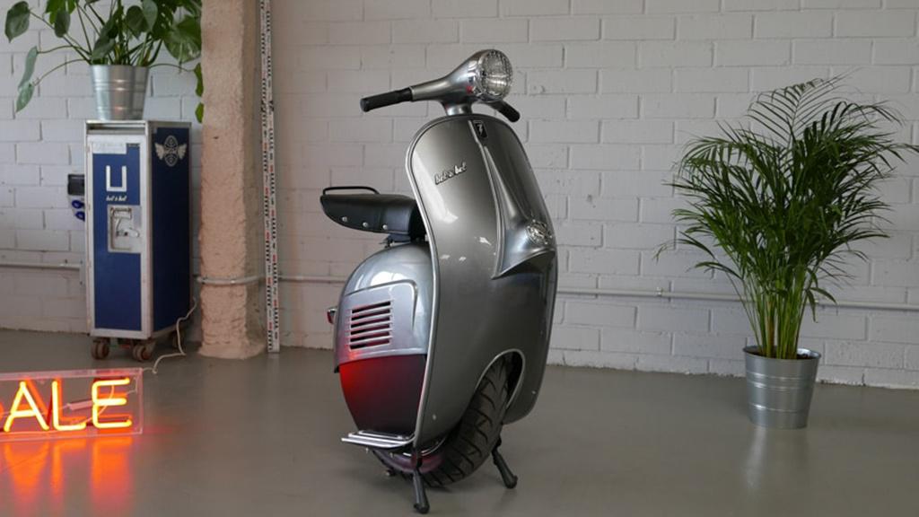 Noch eine Elektro-Vespa – diesmal nur mit einem Rad!