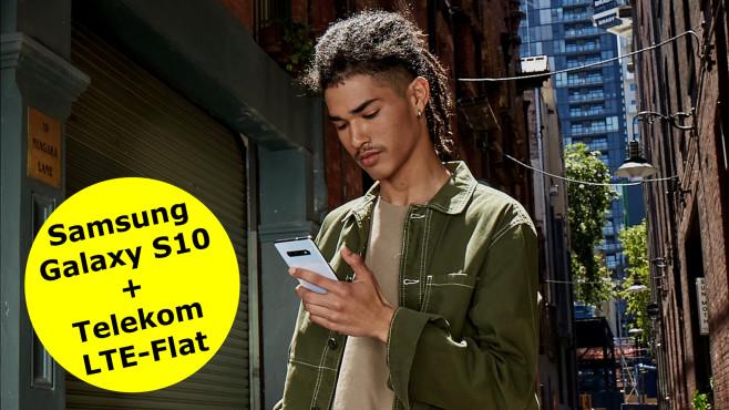 Galaxy S10 mit 8-GB-Vodafone-LTE-Flat©Samsung
