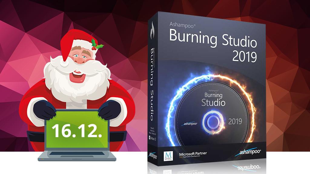 Gratis: Ashampoo Burning Studio 2019 zum Download!