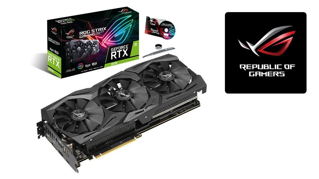 Adventskalender: Asus ROG-Strix-RTX2070-A8G-Gaming zu gewinnen