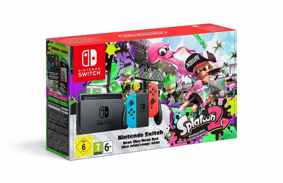"Nintendo Switch: Die besten Bundles Nintendo Switch inklusive ""Splatoon 2"". © Nintendo"