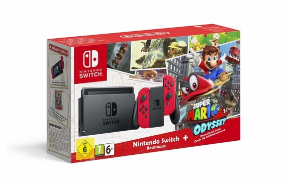 "Nintendo Switch: Die besten Bundles Nintendo Switch inklusive ""Super Mario – Odyssey"".©Nintendo"