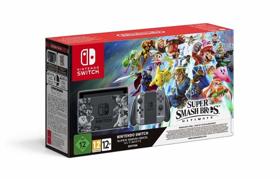 "Nintendo Switch: Die besten Bundles Nintendo Switch inklusive ""Super Smash Bros – Ultimate"". © Nintendo"