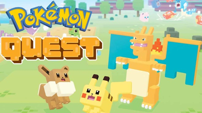 Pokémon Quest für Nintendo Switch © Nintendo