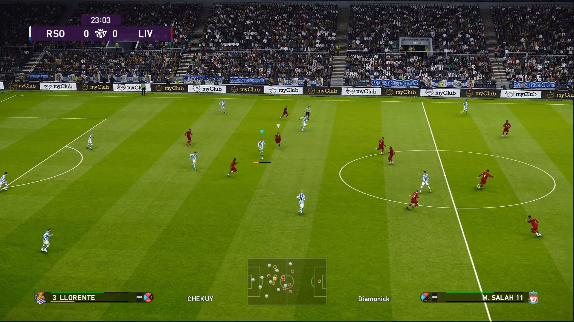 Screenshot 1 - eFootball PES 2021 Lite