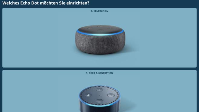 Der Echo Dot von Amazon©COMPUTER BILD, Amazon