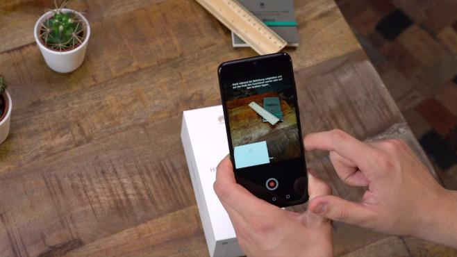 Huawei P Smart (2019): Praxis-Test, Preis, Release, technische Daten Die solide Dual-Kamera verfügt über eine automatische Motiverkennung und einen Nachtmodus, der das Bild länger belichtet und so auch bei wenig Licht mehr herausholt.©COMPUTER BILD