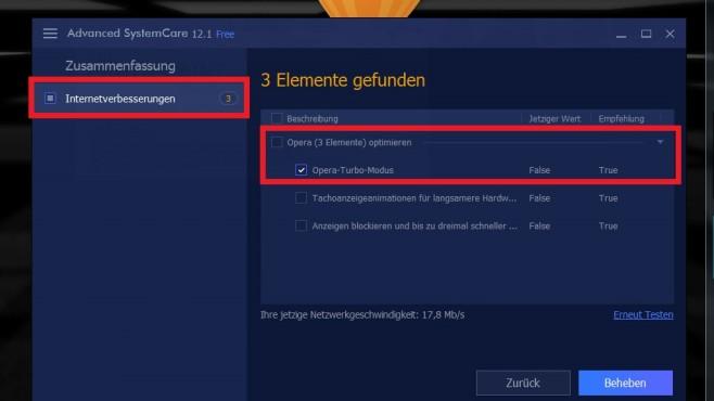 Opera Turbo: Schneller surfen dank Proxy-Funktion©COMPUTER BILD