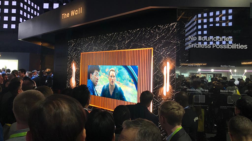 Samsung The Wall Der Micro Led Tv Wird Noch Größer Audio Video