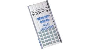 Wasserhärte-Teststäbchen©Stelzner
