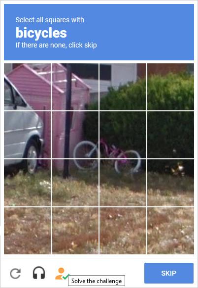 Screenshot 1 - Buster für Chrome