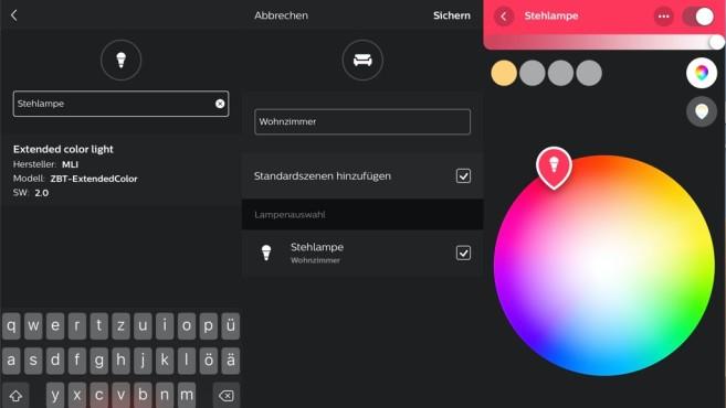 Tint-Leuchten und Philips Hue©Signify, COMPUTER BILD