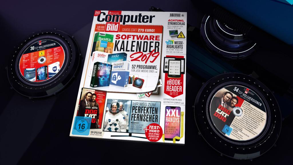 COMPUTER BILD GEWINNSPIEL AUSGABR 2 2019