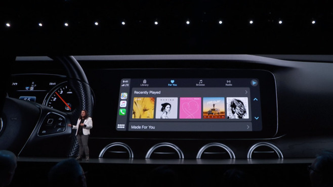 Apple iOS 13: CarPlay © Apple