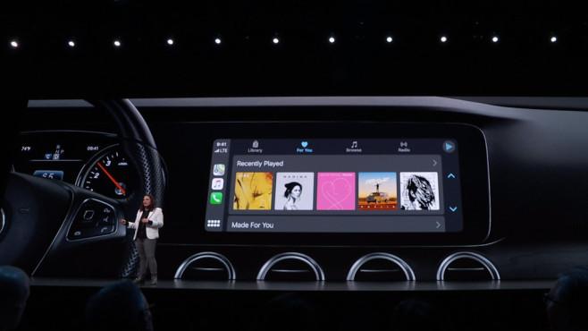 Apple iOS 13: CarPlay©Apple