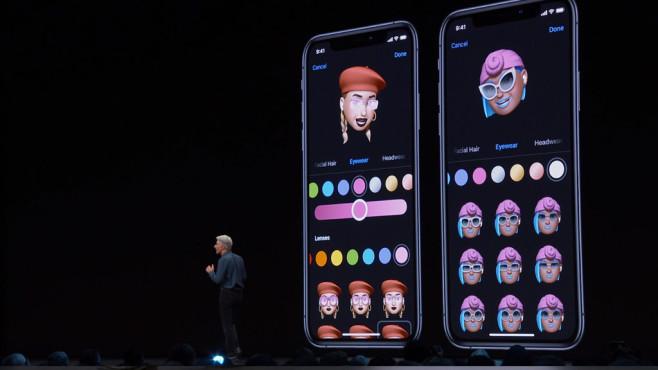 Apple iOS 13: Memojis©Apple