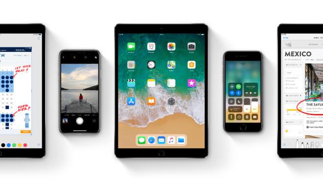 Apple-iOS-Geräte©Apple