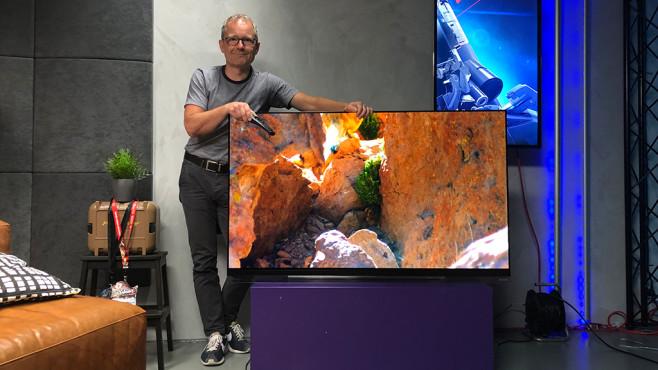 LG OLED Fernseher im Test©COMPUTER BILD