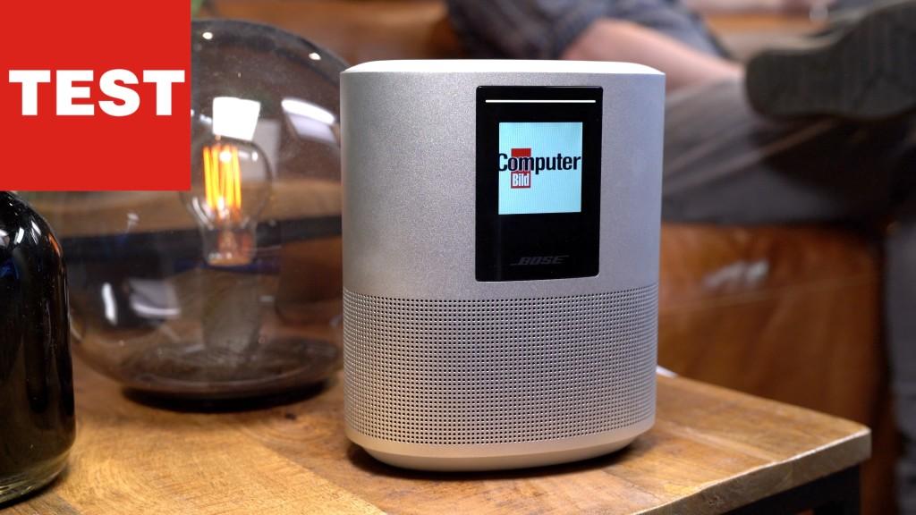 bose home speaker 500 wie gut klingt die alexa box. Black Bedroom Furniture Sets. Home Design Ideas