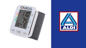 Blutdruckmessger�t bei Aldi im Angebot: Quigg g�nstig beim Discounter©Aldi Nord, Quigg