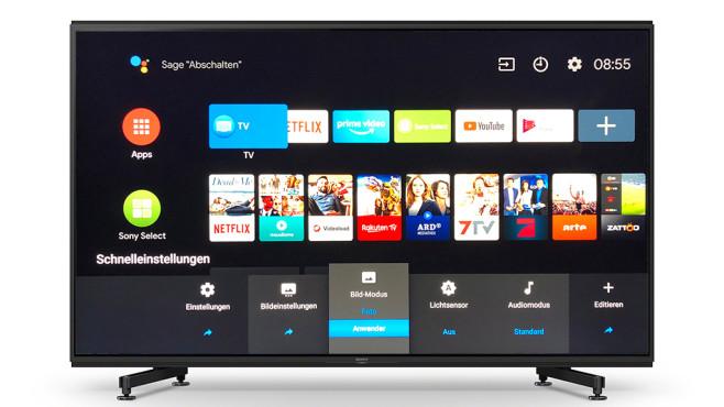 """Sony KD-85ZG9 im Test: Dieser Fernseher ist der helle Wahnsinn! Der Sony ZG9 lieferte die beste Bildqualität im Test im Bildmodus """"Anwender"""". Mit dem Regler für den Schwarzwert auf 51 ließ sich die Durchzeichnung in dunklen Bildbereichen noch verbessern, für das Local Dimming ist die mitllere Einstellung die beste. Wer normalen Filmen und TV-Sendungen einen dezenten HDR-Look verpassen und sie damit brillanter aussehen lassen möchte, der stellt die """"Farbbrillanz"""" auf die niedrigste Einstellung und """"Xtended Dynamic Range"""" auf die mittlere.©COMPUTER BILD, Sony"""