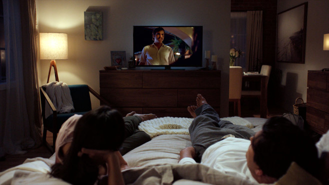 Netflix-Streamer auf dem Sofa©Netflix