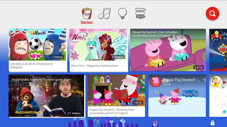 Screenshot 1 - YouTube Kids (App für iPhone & iPad)
