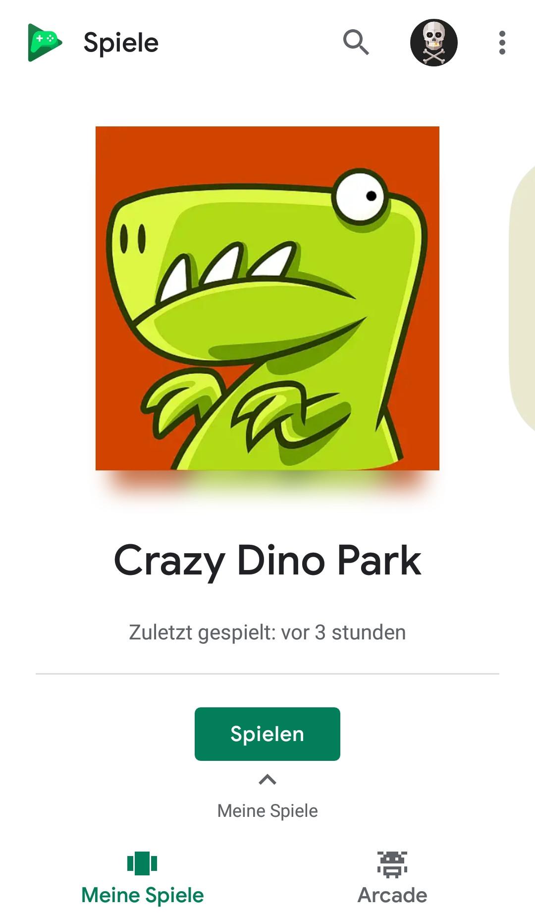 Screenshot 1 - Google Play Games (APK)