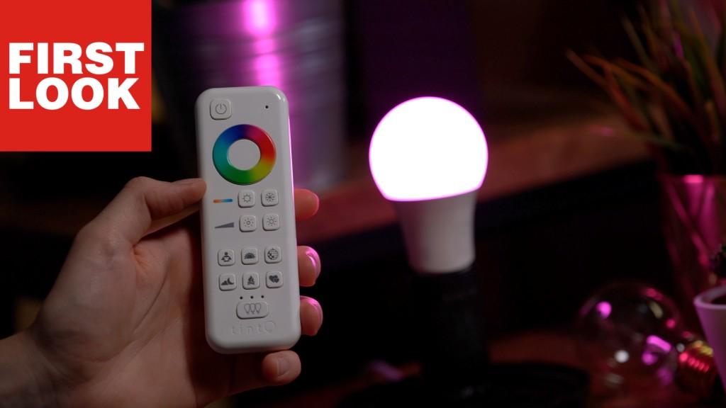 smarte lampen bei aldi tint system von m ller licht. Black Bedroom Furniture Sets. Home Design Ideas