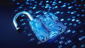 Vorhängeschloss für Internetsicherheit©iStock.com/matejmo
