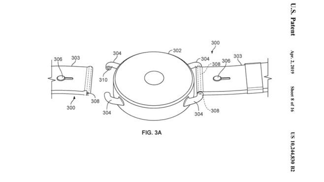 Patent für Google Smartwatch©USPTO