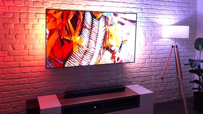 Philips-Fernseher 2019: Android, Ambilight & mehr Der Philips OLED754 ist der günstigste OLED-Fernseher des Herstellers.©COMPUTER BILD
