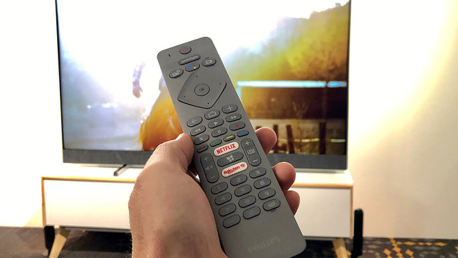 Philips Fernseher 2019 Fernbedienung©COMPUTER BILD