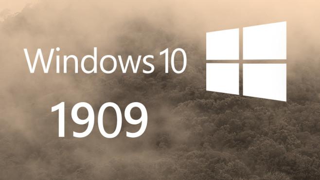 Windows 10: Update 1909 (19H2) – das steckt drin! - COMPUTER