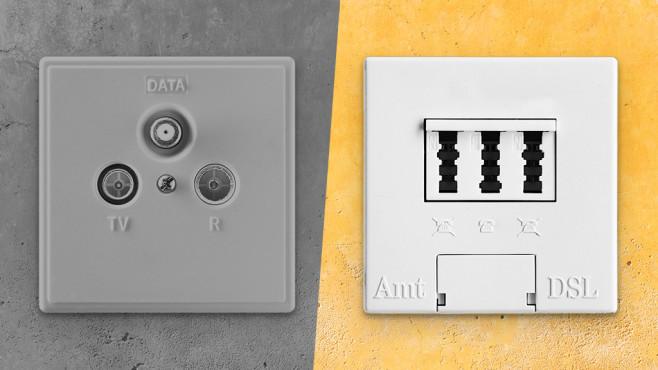 Wechsel Kabel zu DSL©istock/Alex