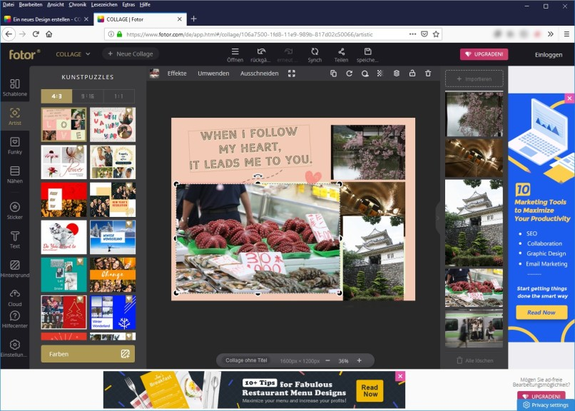 Fotor Online Photo Editor Download Computer Bild