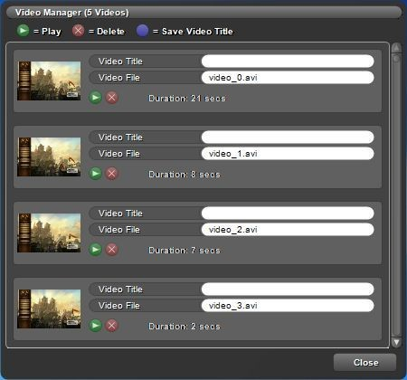 Screenshot 1 - Game Cam