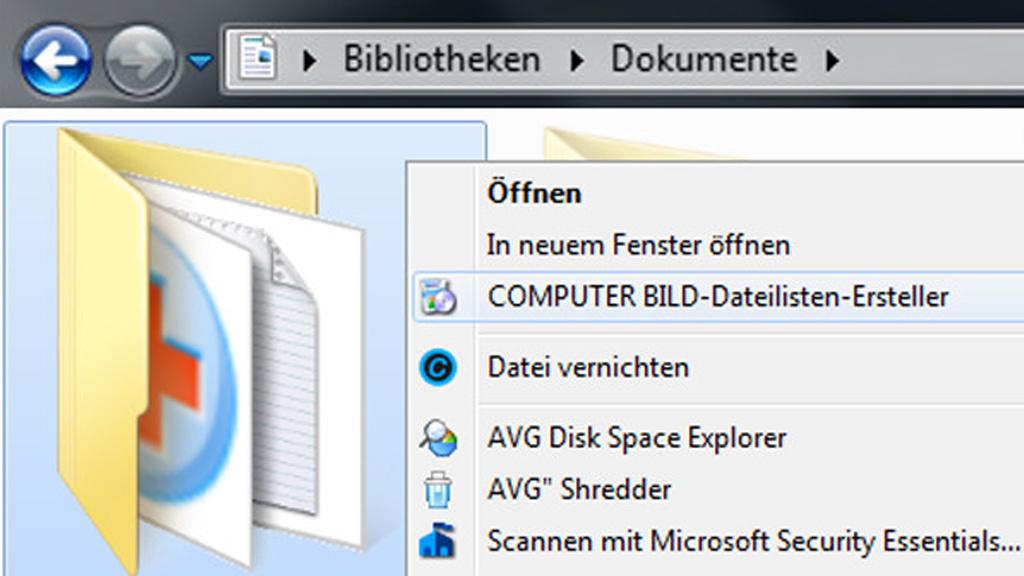 Windows 7/8/10: Ordner inventarisieren – Simpel-Tool selbst programmieren