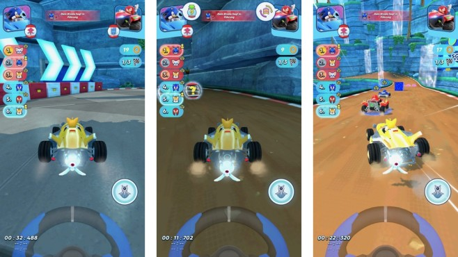 Screenshot Sonic Racing © COMPUTER BILD