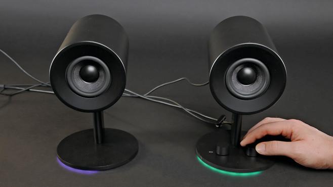 Razer Nommo Chroma: LEDs©RAZER, COMPUTER BILD