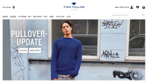 Cashback bei Tom Tailor © PR/Screenshot www.tom-tailor.de