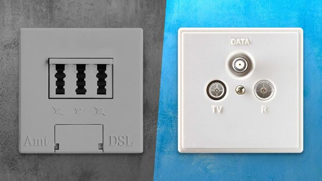 Wechsel DSL auf Kabel©istock/Sami Sert
