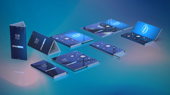 Intel Falt-Smartphone©LetsGoDigital