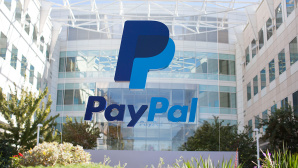 PayPal-Logo vor Zentrale in San Jose, Kalifornien (USA)©PayPal