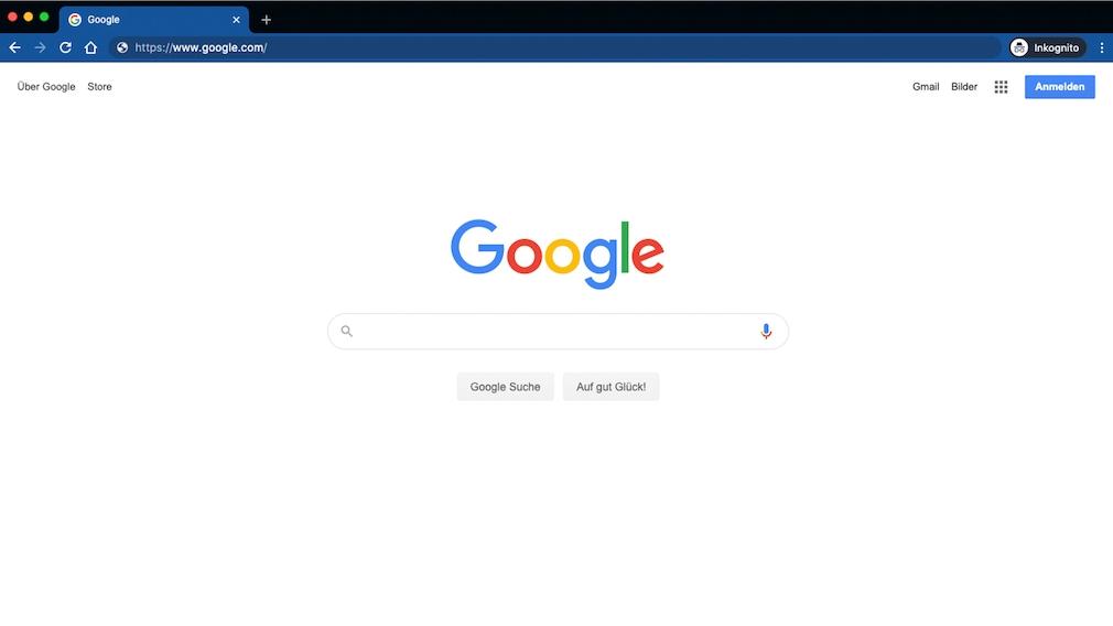 Chrome-Inkognito-Fenster